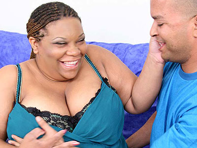 Chubby Ebony Choclick Takes Cock Cramming