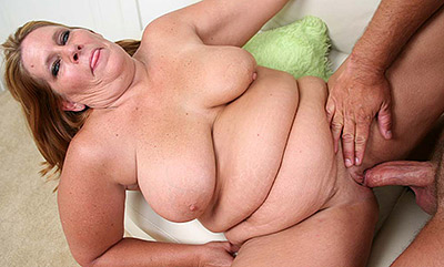 Plump Leighann Crammed with a Huge Cock